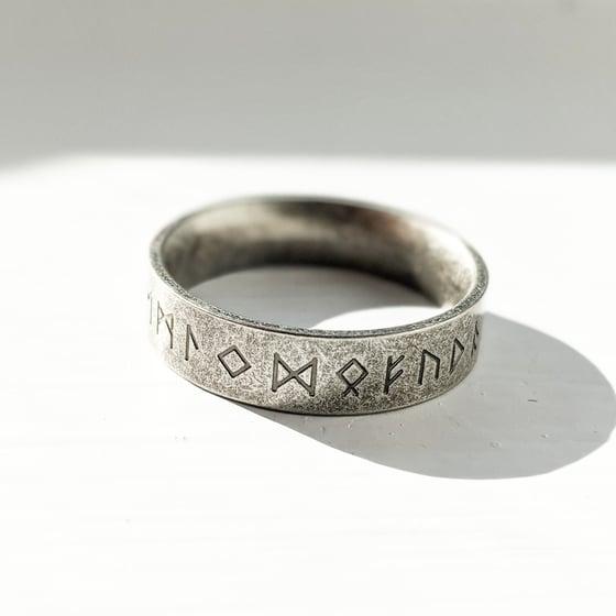 Image of Oxidised Rune Ring