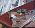Mid-century Modern Swedish Artist 'The Artist's Palette'