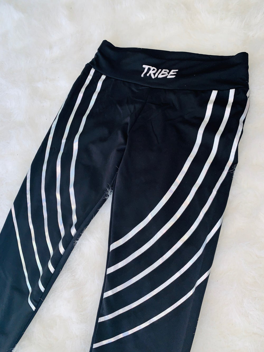 Image of Chiefy Tribe Black legging