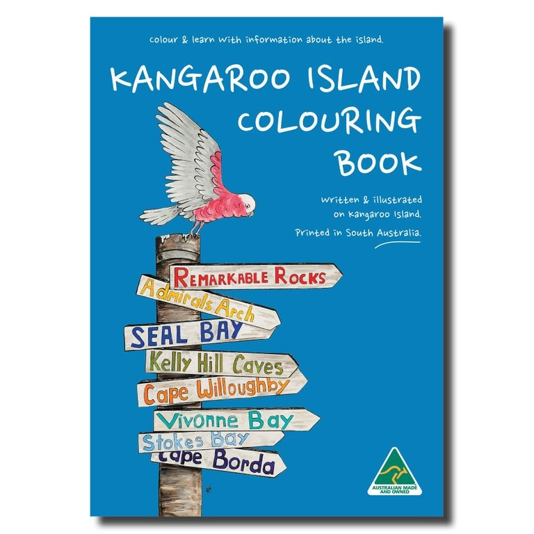 Image of Kangaroo Island Colouring Book - A4 - BACK IN STOCK!