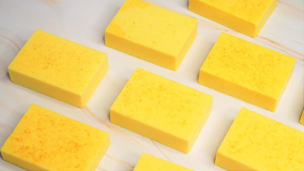 Image of Turmeric and Lemon Soap
