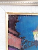 Mid-century Modern Swedish Artist   'Riviera Nights'