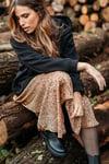 JUPE AUDREY - CAMEL LEOPARD
