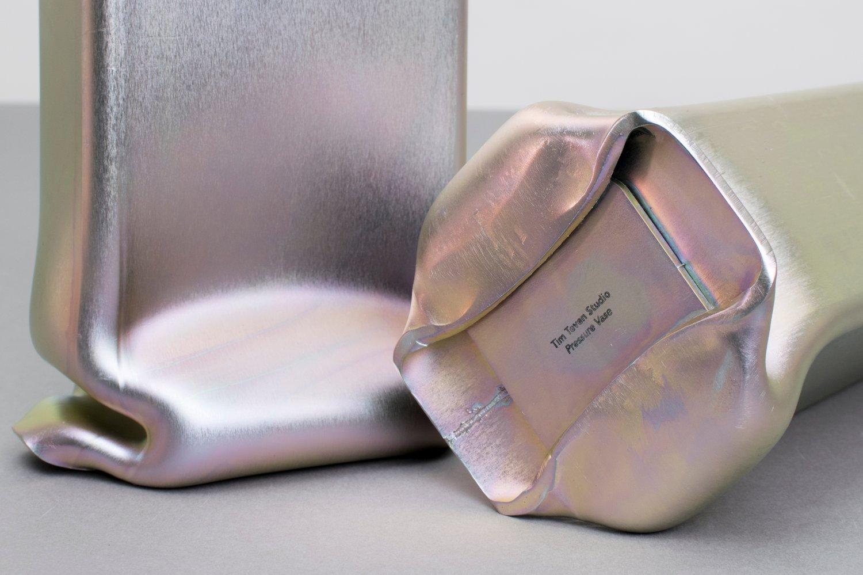 Image of Pressure Vase Rectangular, Zinc Plated