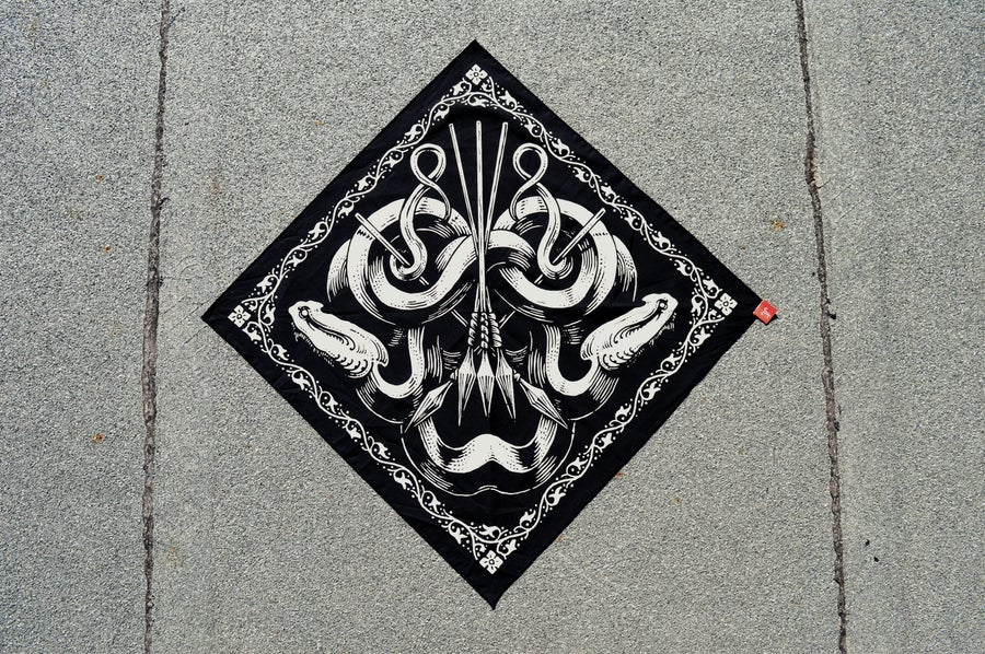 "Image of ""The Aphotic"" Bandana"