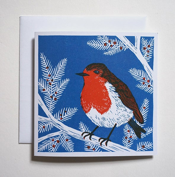 Image of Robin + Squirrel - Christmas Cards