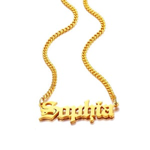 Image of PERSONALISED  NECKLACE-SOPHIA