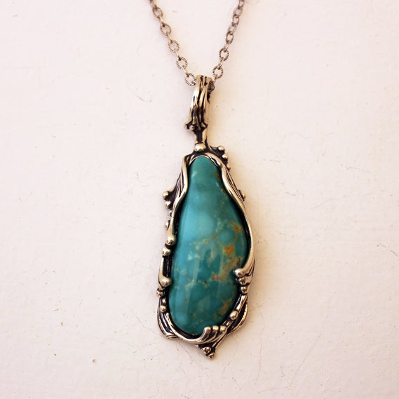 Image of Turquoise Pendant by Crystal Hartman