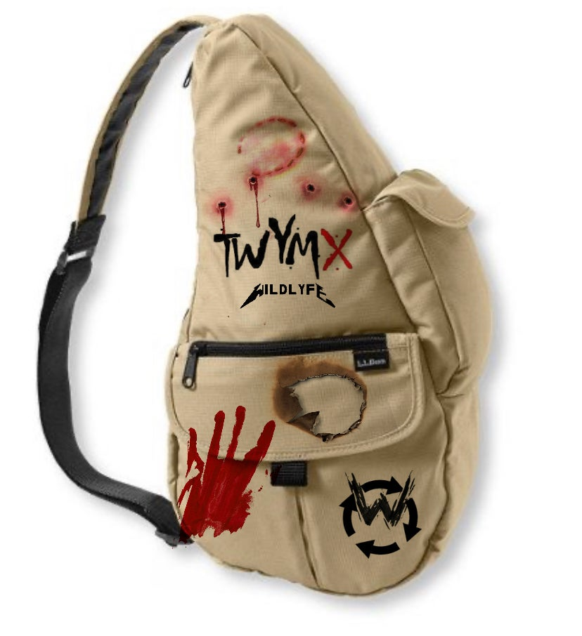 Image of T.W.Y.M.X ( This why you're My X) Messenger bag