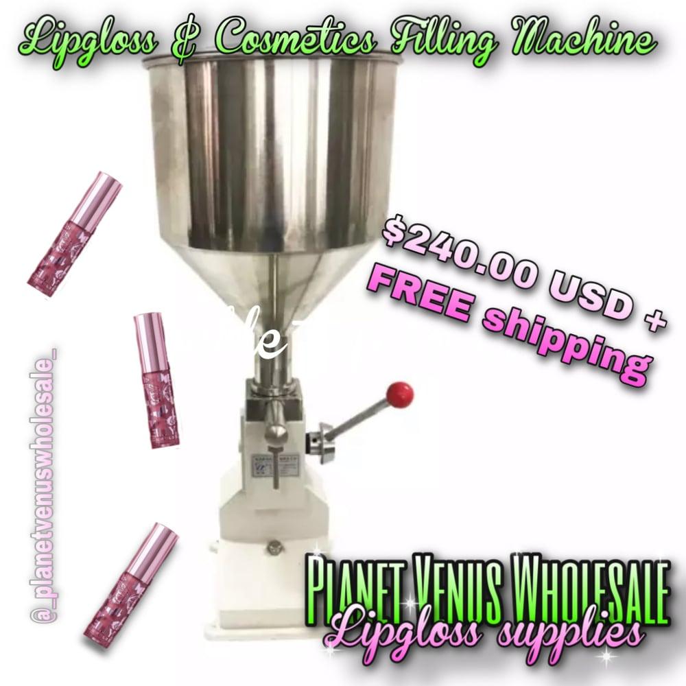Lipgloss and Cosmetics Filling machine