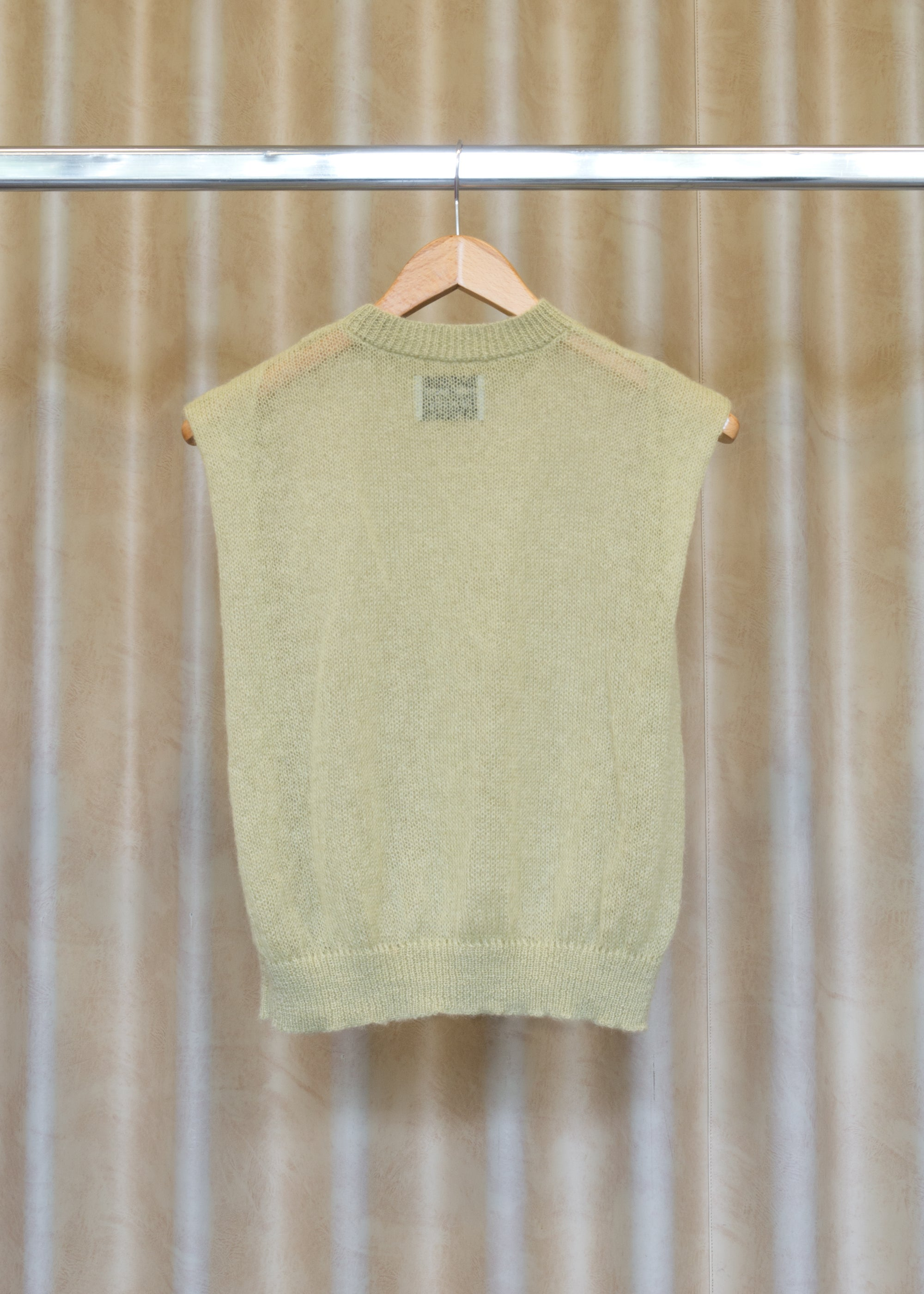 Image of LUCY pullover green chalk