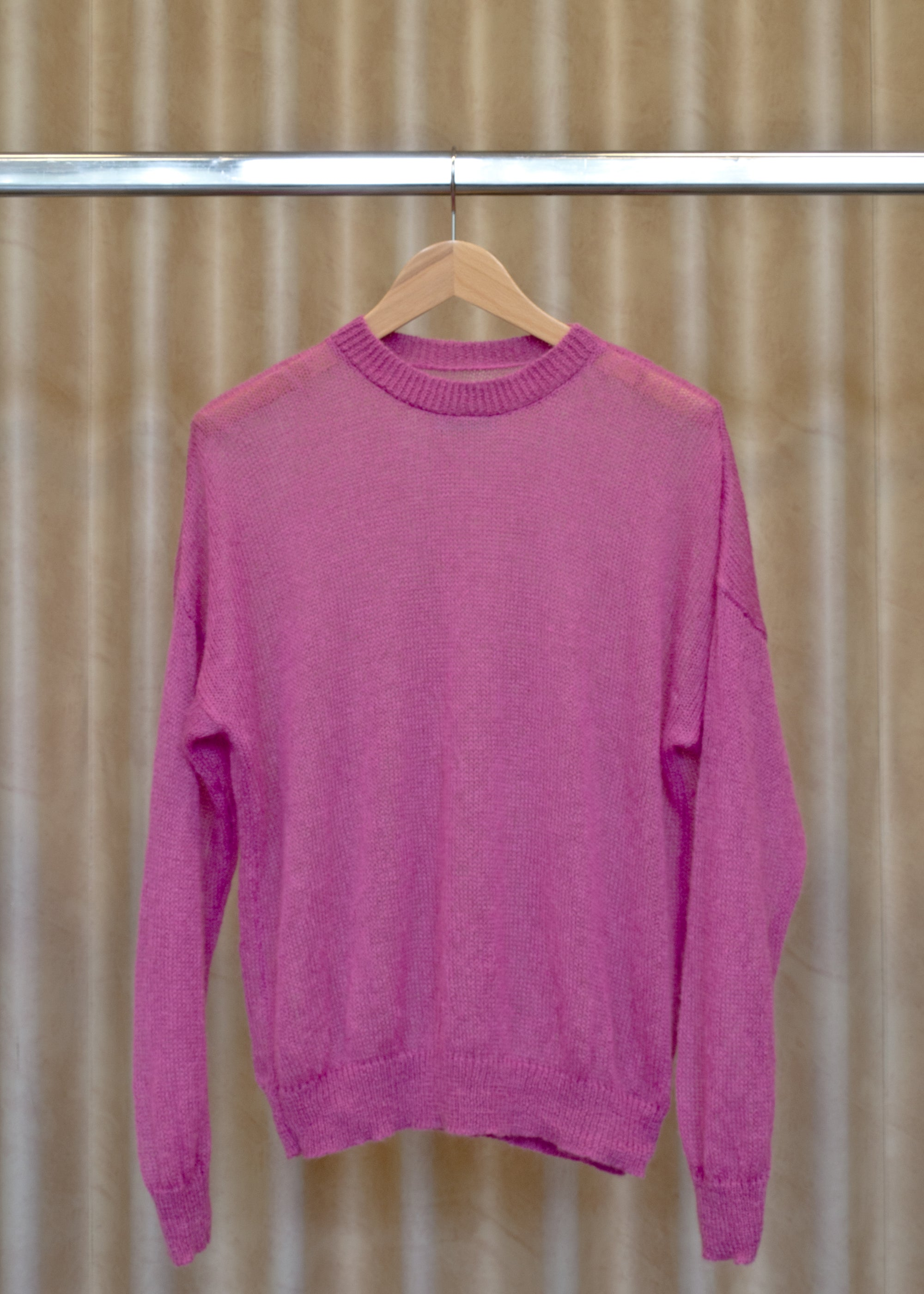 Image of LUCY sweater  hot pink