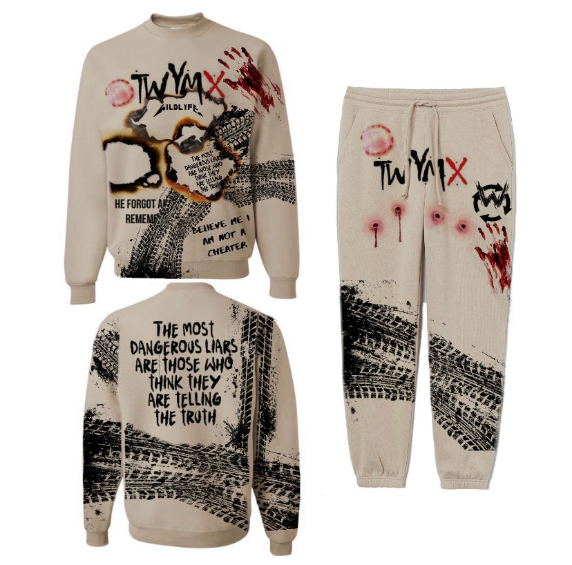 Image of T.W.Y.M.X ( This why you're My X) Sweatsuit