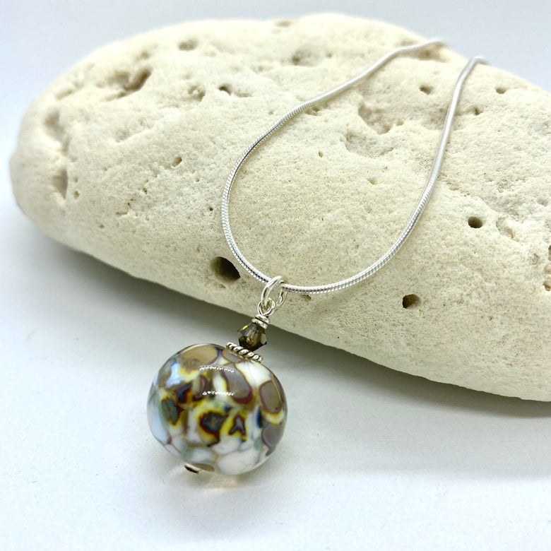 Image of Stone Path Bobble Necklace with crystal