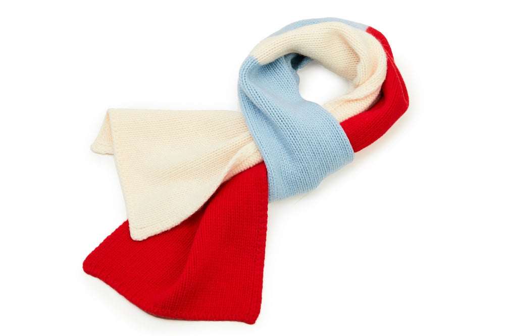 Image of mondiale extra-long scarf R3-F3