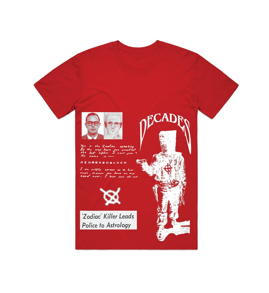 Image of Zodiac red tee