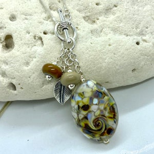 Image of Stone Path Toggle Necklace