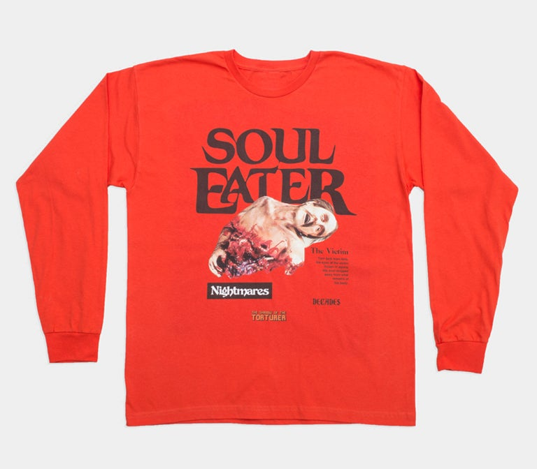 Image of Soul Eater long sleeve orange