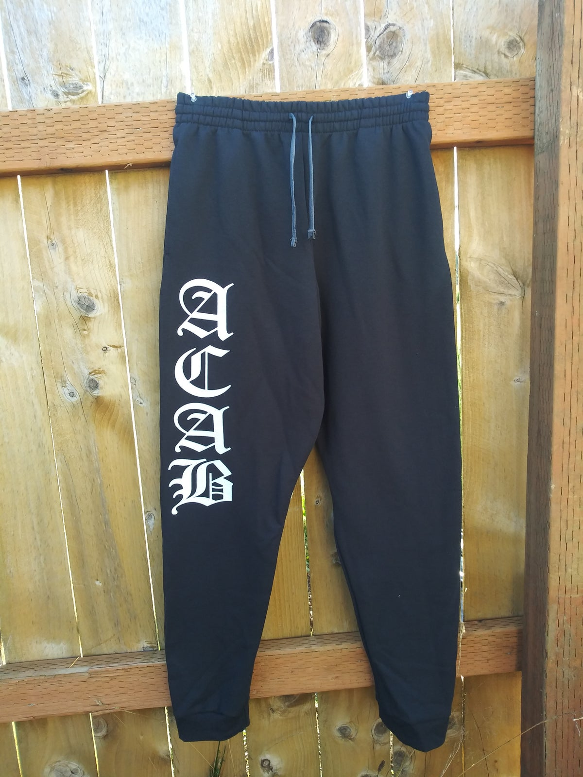 Image of ACAB Jogger Old English With POCKETS