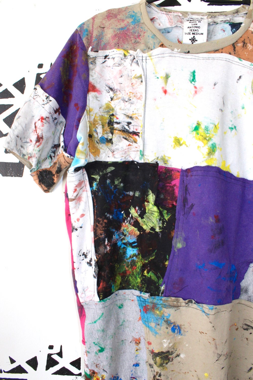 the pieces and parts cut and sew tee