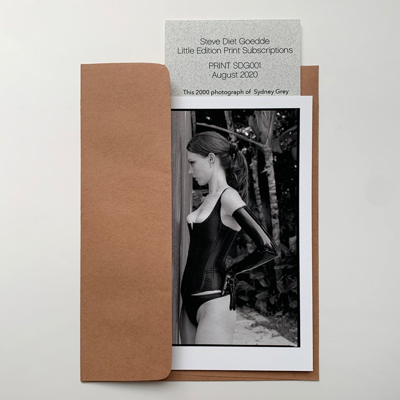 Image of Subscription Print SDG001