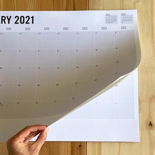 Image of 2021 DESK CALENDAR