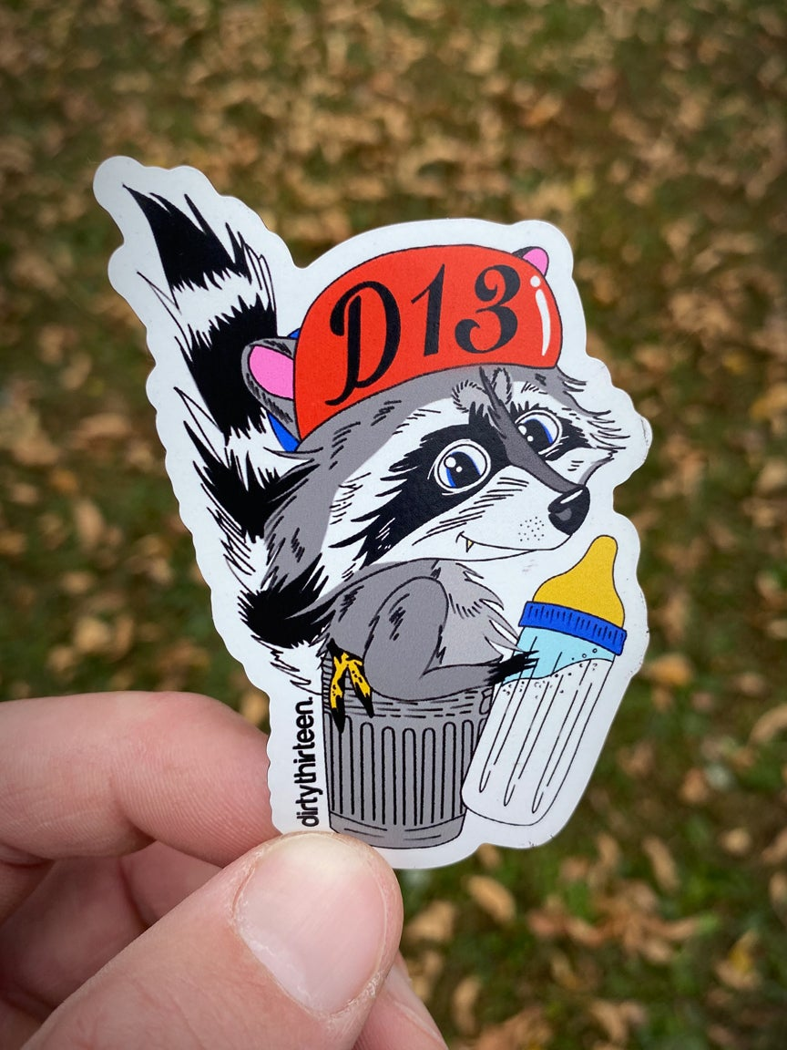 Image of Trash Panda Magnet