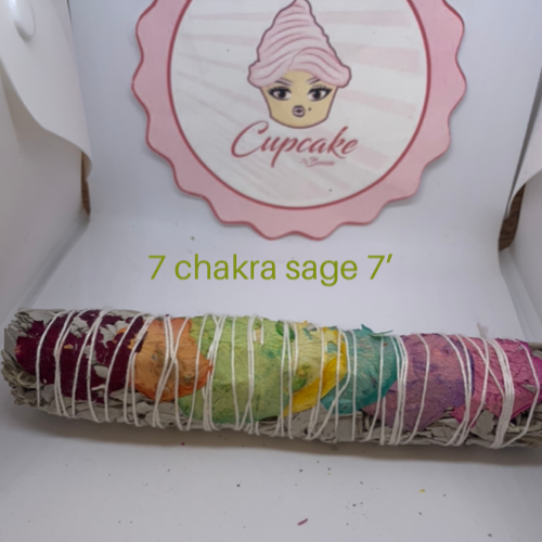 Image of CupCake By Bossie sage smudge (Don't kill my vibe sticks)