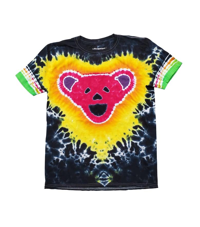Image of 1 OF 1 **M** Dead Bear Tie Dye Tee