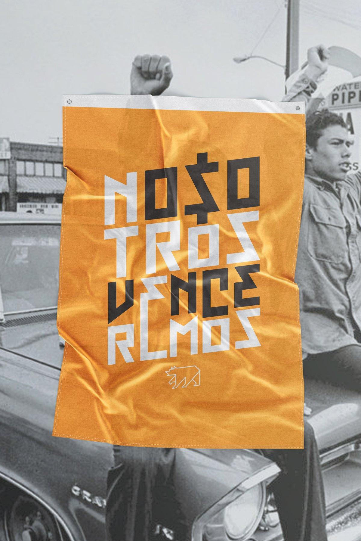NOSOTROS VENCEREMOS Flag