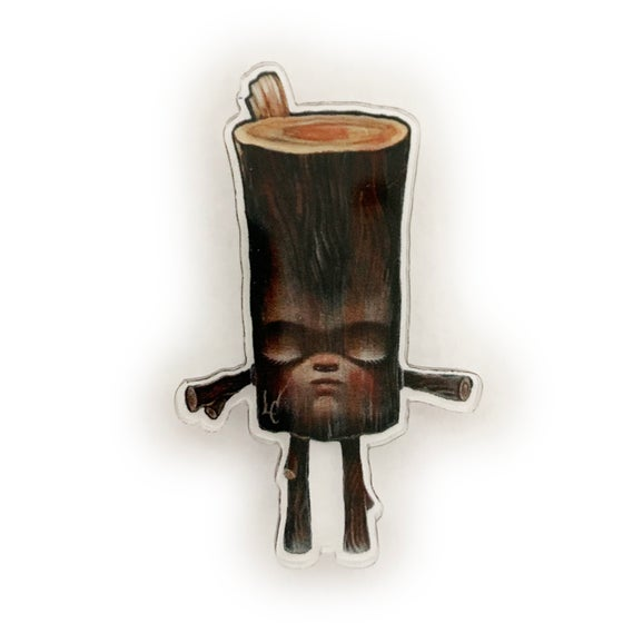 Image of Logman (Acrylic Pin)