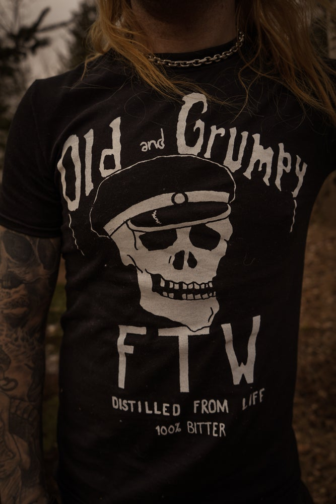 Image of Old and grumpy tshirt
