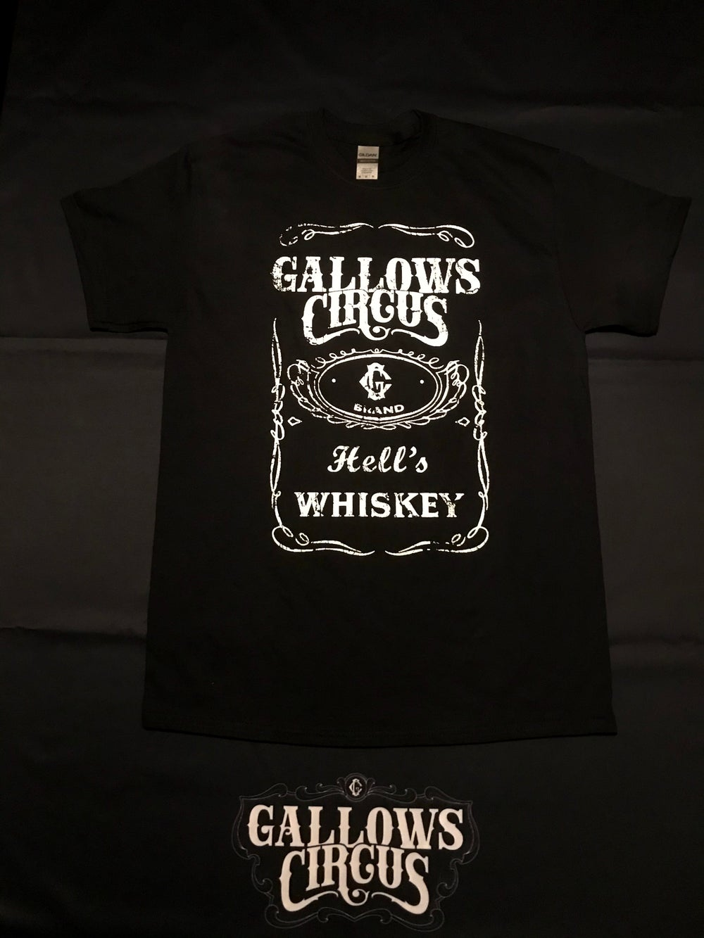 Hells whiskey T-shirt Black