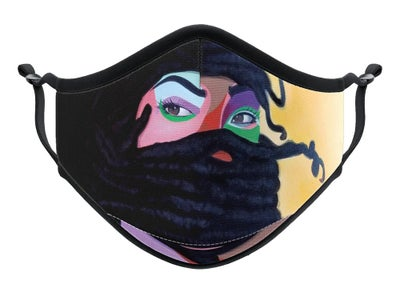 "Image of ""Warrior"" Face Mask"