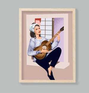 Image of Holly Golightly / Audrey Hepburn / Moon River