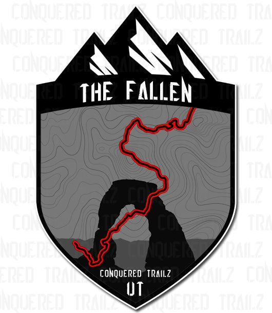 "Image of ""The Fallen"" Trail Badge"
