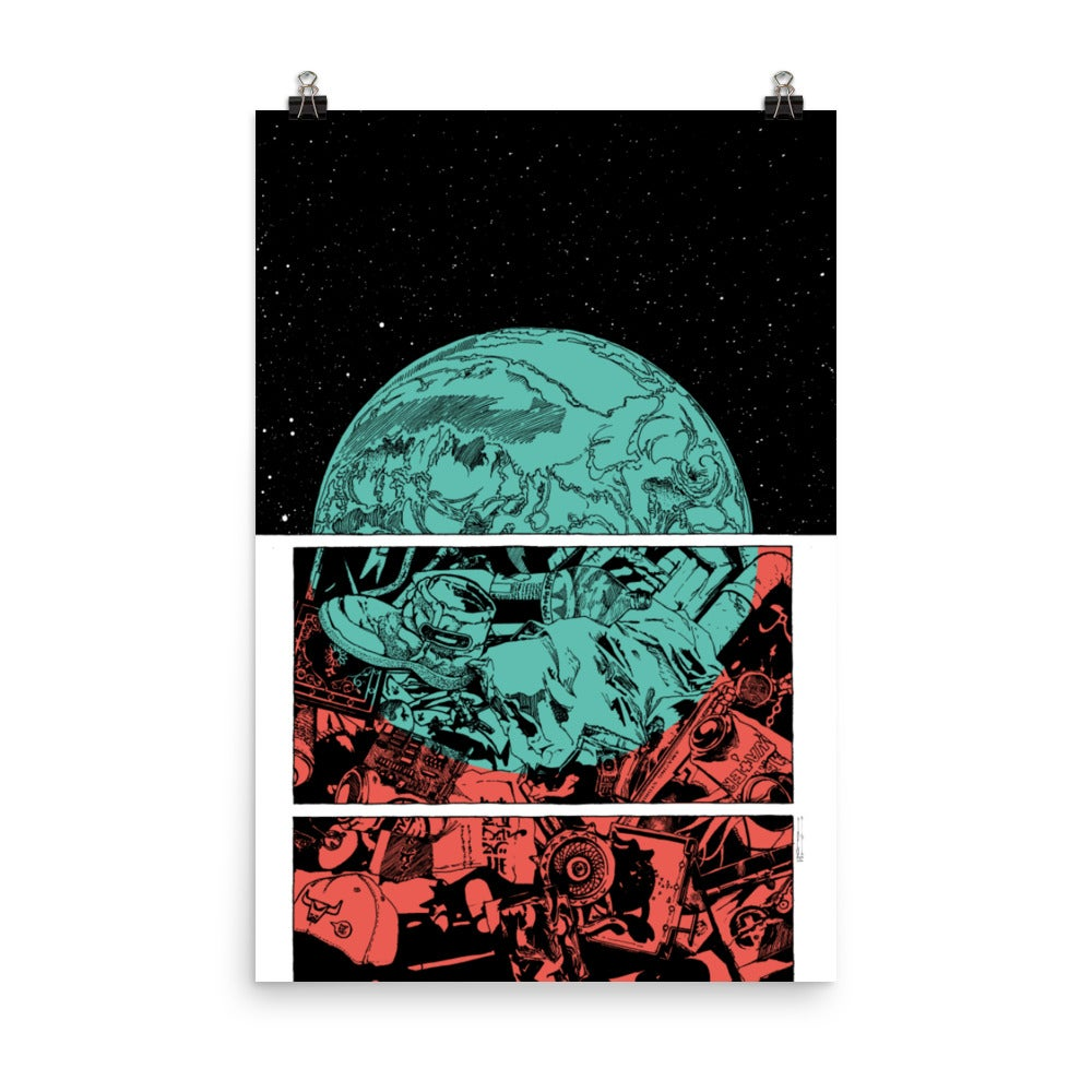 Planet Kaputalism Poster