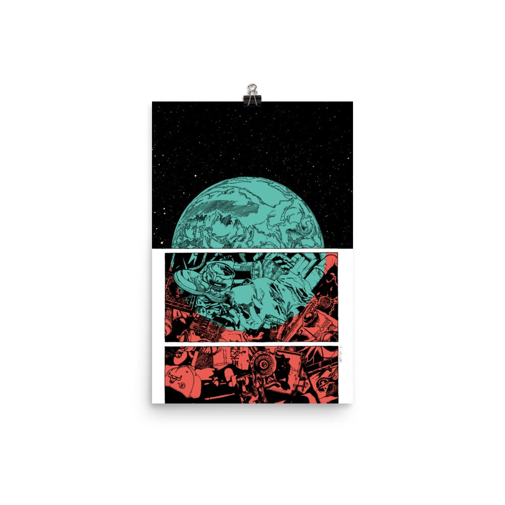 Image of Planet Kaput-alism Poster