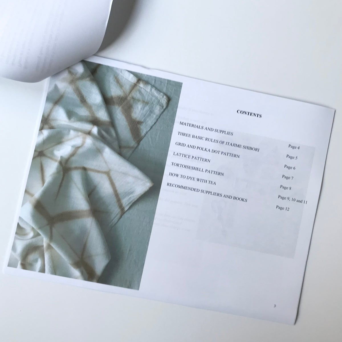 LEARN ITAJIME SHIBORI The Gift That Gives! print version