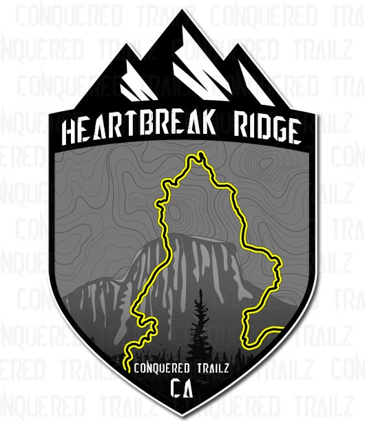 "Image of ""Heartbreak Ridge"" Trail Badge"