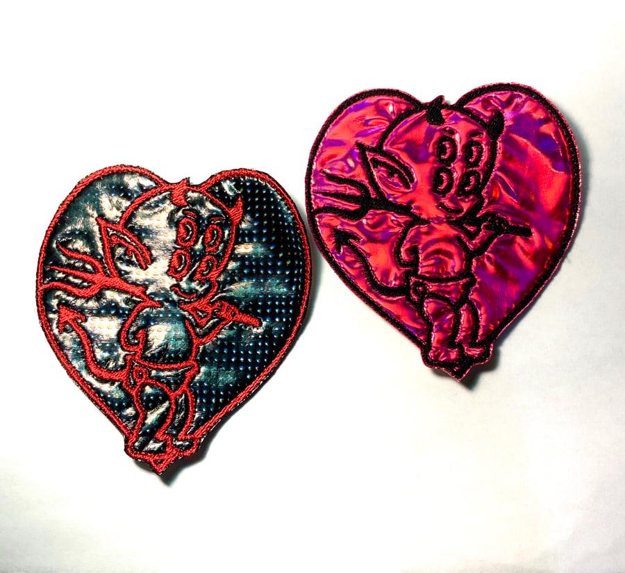Image of Little Devil Heart Patch