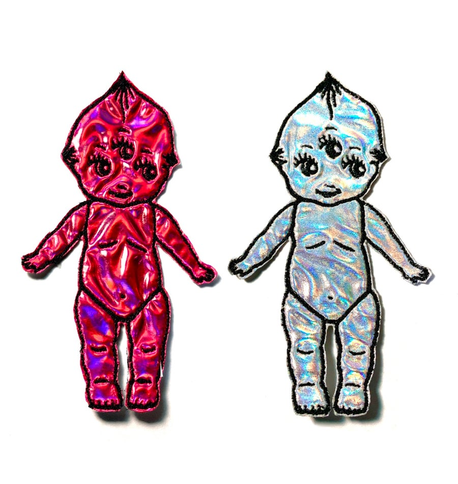 Image of Holographic Kewpie Patch