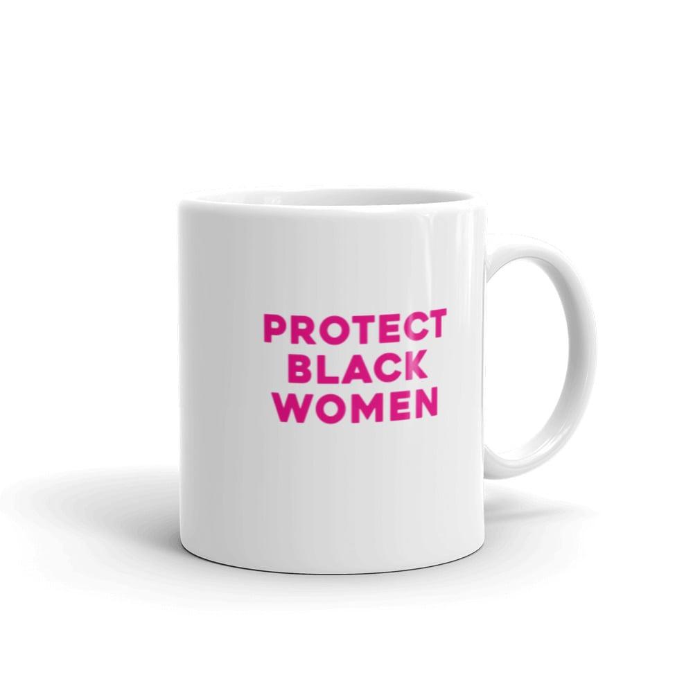 Image of Pink Protect Black Women Mug