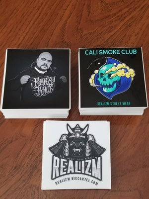 Image of Realizm Stickers