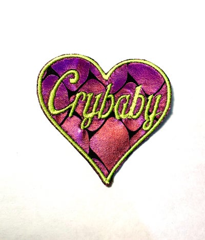 Image of Crybaby Mermaid Scales Patch