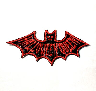 Image of Halloween Queen Bat Patch