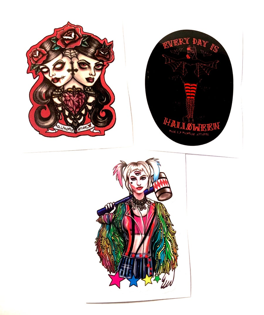 Image of Spooky Babe Sticker Pack