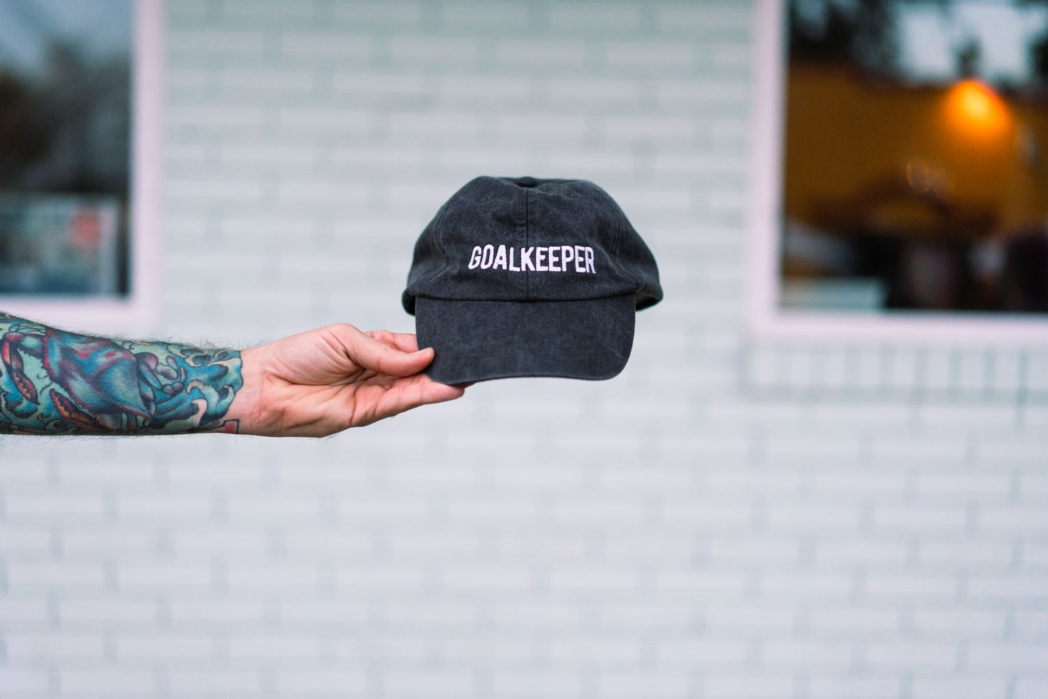 Image of Goalkeeper Embroidered Hat