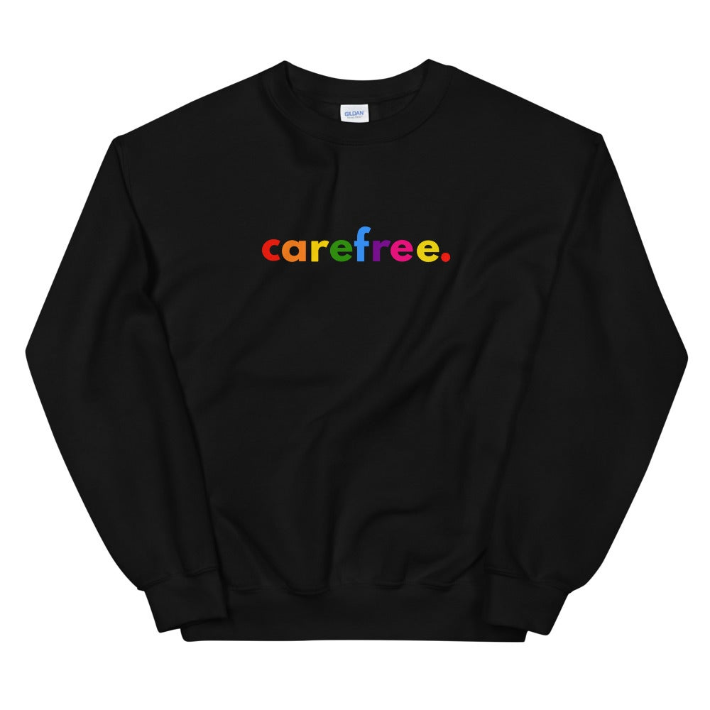 Image of Unisex Carefree Multicolor Sweatshirt