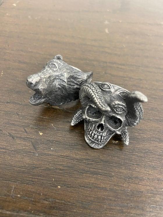 Image of Skull / Wolf Rings